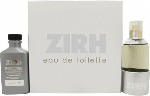 Zirh Gift Set 125ml EDT + 100ml Post Shave Solution Lotion For Men