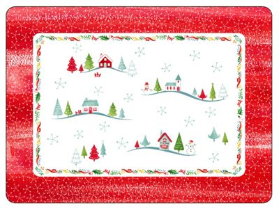 Pimpernel Christmas Wish Design Large Placemats, Set of 4