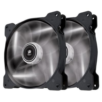 Corsair Air Series SP120 White Led High Static Pressure Fan Dual Pack