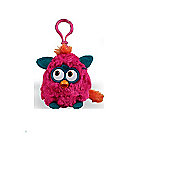 Furby Wild Colours 8cm Keychain With Sound Pink