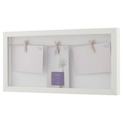 Buy White Peg Photo Frame from our All Frames range - Tesco