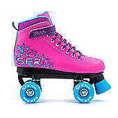 Vision II Pink Quad Skate - Size 12