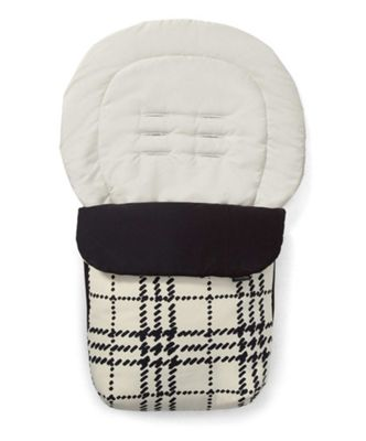 Mamas & Papas - Luxury Collection Footmuff - Harper Check