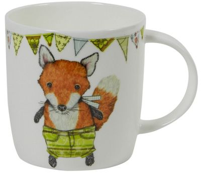 Roy Kirkham Creature Comforts Single Mug, Fox