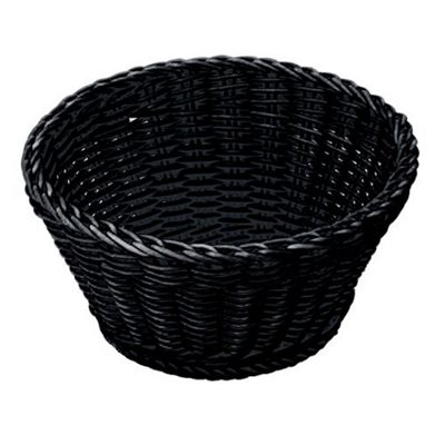 Westmark Saleen 18cm Round Multi Purpose Basket, Black