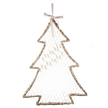 Willow Christmas Tree Card Holder