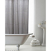 Country Club 3D Smoke Grey Shower Curtain