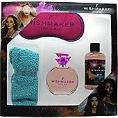 Little Mix Wishmaker Gift Set 30ml EDP + 250ml Bubble Bath + Fluffy Socks + Eyemask For Women