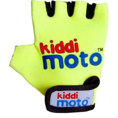 Kiddimoto Gloves Neon Yellow (Medium)