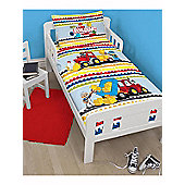Lego Duplo Blocks Junior Panel Duvet Cover Set