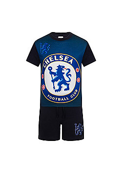 Chelsea FC Boys Kit Pyajmas - Navy