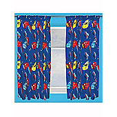 Disney Cars Piston Curtains 66 inch x 54 inch (168cm x 137cm)