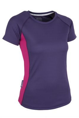 Mountain Warehouse Endurance Womens Short Sleeved T-Shirt ( Size: 6 )