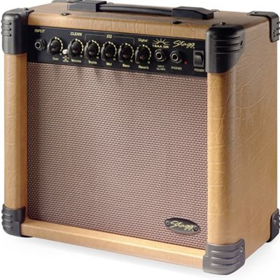 Stagg 15 AA DR UK Acoustic Guitar Amplifier - 15W