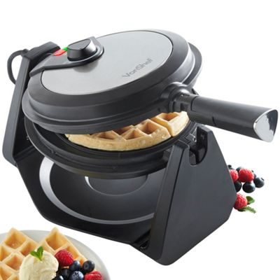 buy vonshef rotating waffle maker from our food makers. Black Bedroom Furniture Sets. Home Design Ideas