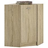Kensington Corner Cabinet Sonama Oak