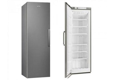 Smeg UK26PXNF4 Freestanding Stainless Steel Freezer