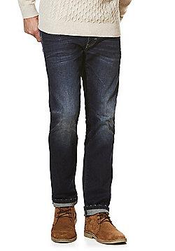 F&F Stretch Slim Leg Jeans - Dark wash