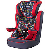 OBaby Group 1-2-3 High Back Booster Car Seat (Toy Traffic)