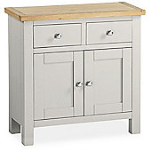 Farrow Painted Sideboard - Mini Sideboard - Grey Painted