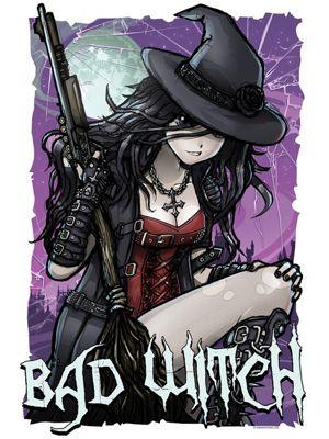 Bad Witch Mini Poster 32 x 44cm