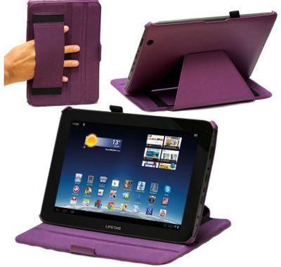 Medion Life Tab E10315 Purple Multi Stand Case Cover