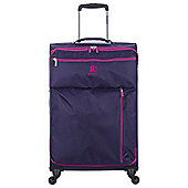 Revelation by Antler 4 wheel Weightless Purple Medium Suitcase