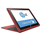 HP X2 10-P0007NA 10.1 Inch Intel Atom 2GB RAM 32GB eMMC Storage 2 in 1 Detachable Laptop - Red