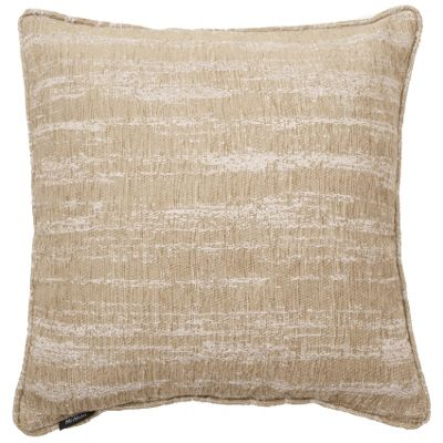McAlister Oatmeal Textured Chenille Cushion Cover - 43x43cm
