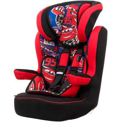 OBaby Disney Group 1-2-3 High Back Booster Car Seat (Cars)