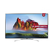 LG SJ800V  Inch 4K Super UHD HDR Smart TV with Freeview Play - Silver