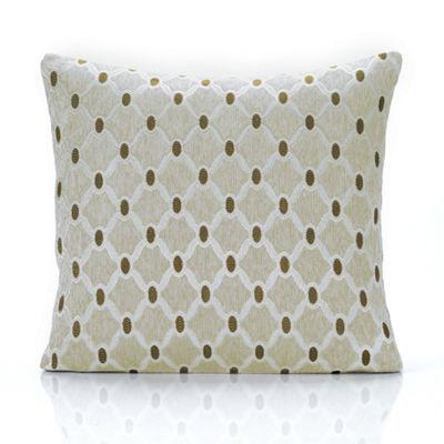 Berkeley chenille fabric cushion cover - cream - 18x18