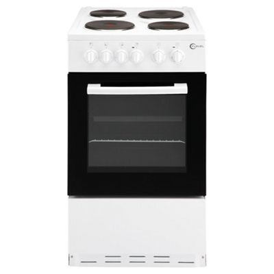 Flavel Beko FSBE50 50cm single oven electric cooker in white