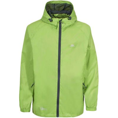 Trespass Mens Qikpac Jacket Leaf -M