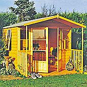 Finewood Milton Summerhouse with Veranda 8 x 9ft