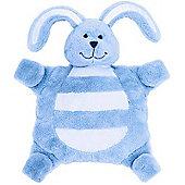 SleepyTot Bunny Baby Comforter - Large (BLUE)