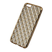Tortoise™ Soft Case iPhone 6/6S. Criss Cross in Gold