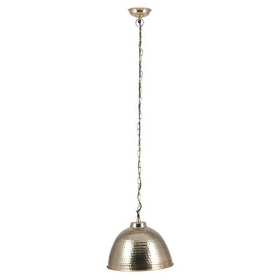 Gold Hammered Electrified Ceiling Pendant Light Industrial Style