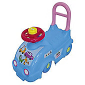 Barbapapa Kids Ride On Car With Push Bar (obar49) - Outdoor and Sports