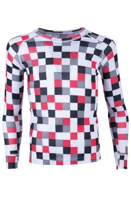 Talus Patterned Kids Round Neck Top