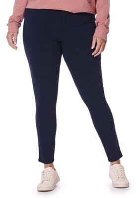 Junarose Slim Leg Plus Size Jeans 20 Navy