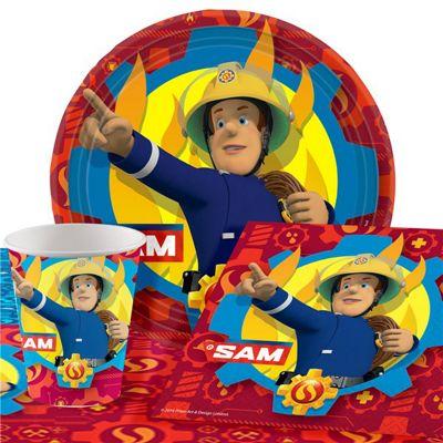 Fireman Sam Party Pack - Value 8 Pack