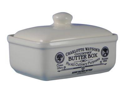 Henry Watson Pottery Charlotte Watson Butter Box