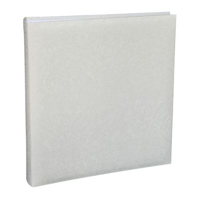 Kenro White Satin Large Traditional Photo Album.