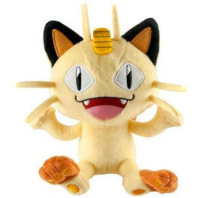 Pokemon Plush, Meowth 8 inch
