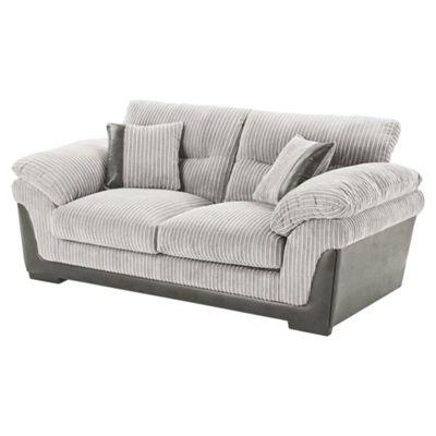 Kendal Medium Jumbo Cord 2.5 Seater Sofa, Light Grey