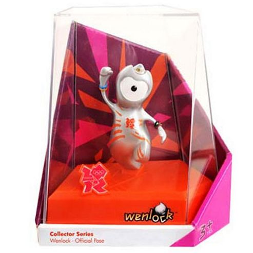 London 2012 24 Collectible Wenlock Figures Value Pack
