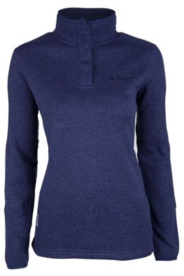 Mountain Warehouse Nevis Womens Button Neck Fleece ( Size: 8 )