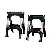 Stanley 1-92-980 FatMax Telescopic Sawhorse (Twin Pack)