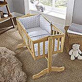 Clair de Lune 2pc Crib Bedding Set (Speckles Grey)